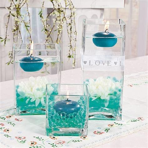 make your own wedding centerpieces floating candle centerpieces idea make your own wedding centerpieces with this wedding