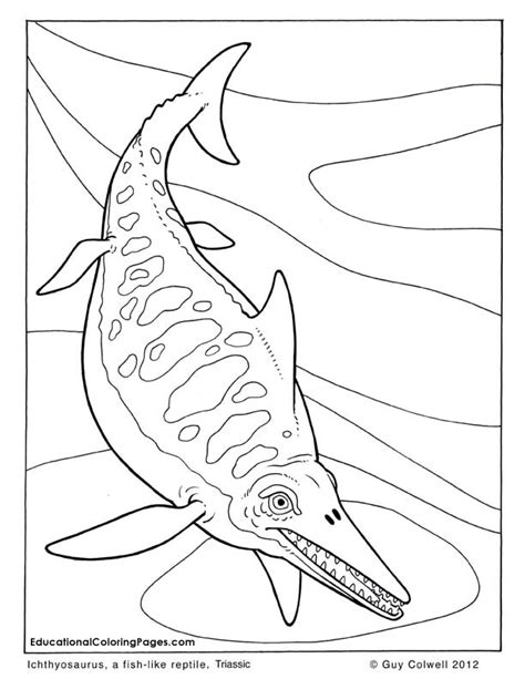 sea dinosaurs coloring pages free coloring pages of mosasaurus