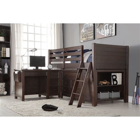 loft bedroom set acme furniture lacey loft 2 piece bedroom set wayfair ca