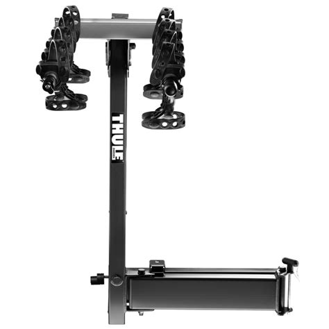 Thule Bike Rack Hitch Lock by Thule Revolver Hitch Bike Carrier With Retractable Locking