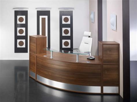 tiny corner desk small reception desks segflow 1 corner reception by