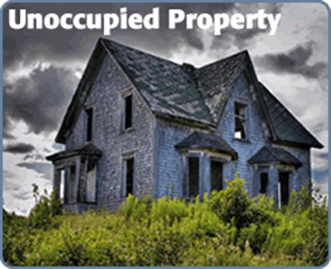 unoccupied property insurance home insurance help