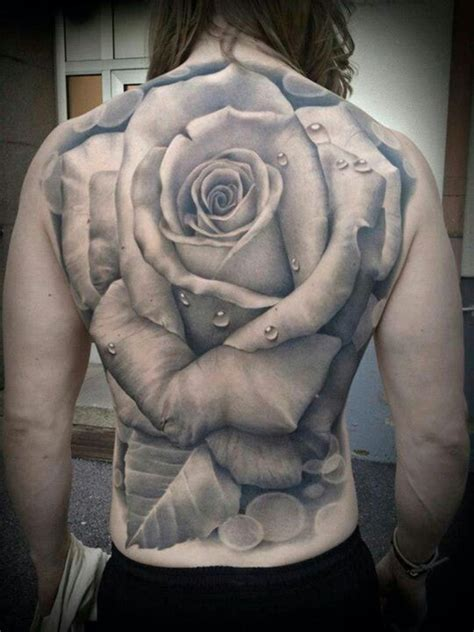 rose tattoo on ass back peice bad tattoos