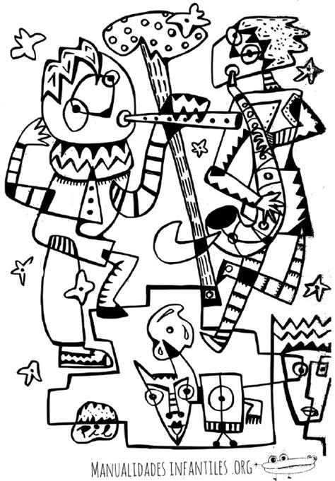 imagenes abstractas para dibujar dibujo de carnaval fantas 237 a abstracta manualidades