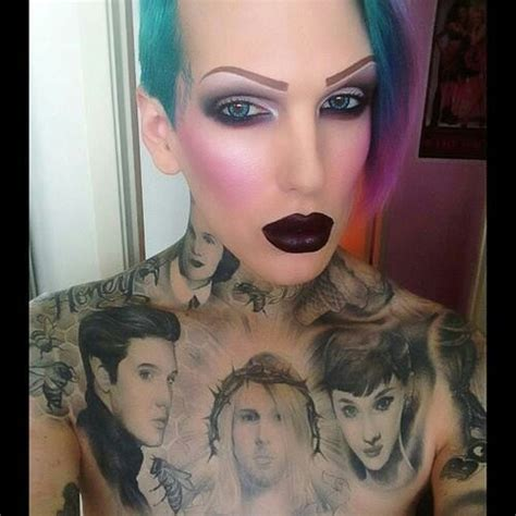 jeffree star tattoos jeffree jeffree