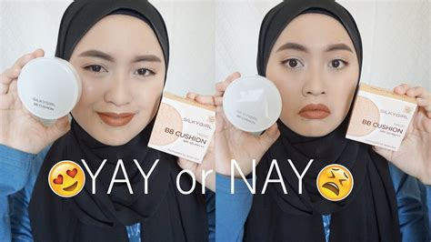 Silky Bb silkygirl magic bb cushion review swatch and demo 01