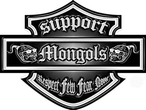 1 Er Mc Brotherhood Of Clubs Lucky 13 Menu Pin Clothing Outlaw Biker mongols supports mongols supporter dont