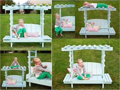 benches for kids creative diy outdoor arbor bench for kids