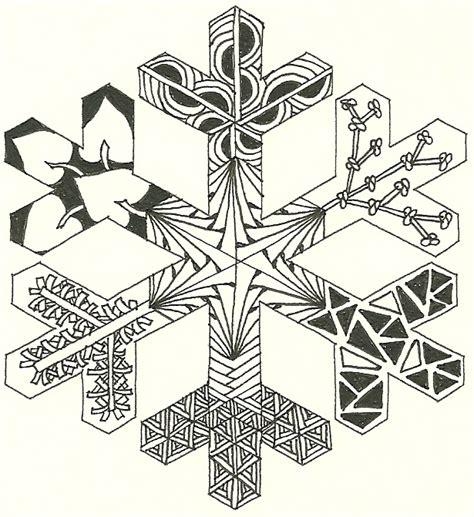 printable zentangle outlines snowflake outline 1 that i zentangled zentangle