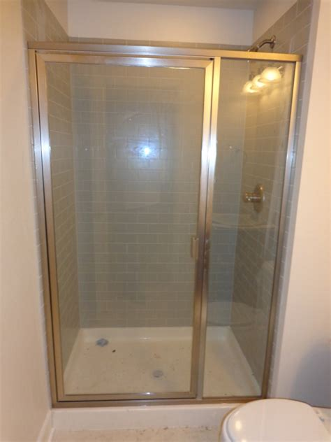 framed glass shower doors framed shower doors and enclosures denver bel shower door