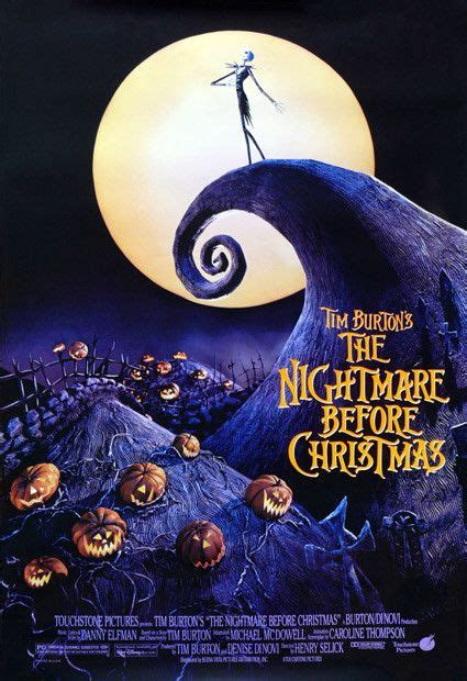 katsella the nightmare before christmas the most iconic movie posters movie posters pinterest