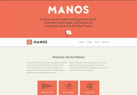 Handcrafted Websites - 20 bold and beautiful websites webdesigner depot