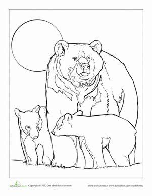 mama bear coloring pages coloring colors and coloring pages on pinterest