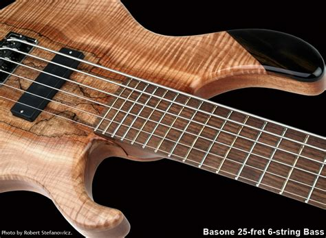 Handcrafted Bass Guitars - custom bass guitars basone guitars and repair shop