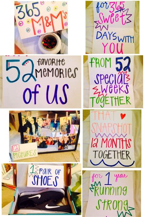 10 Year Anniversary Ideas To Do - best 25 one year anniversary gifts ideas on