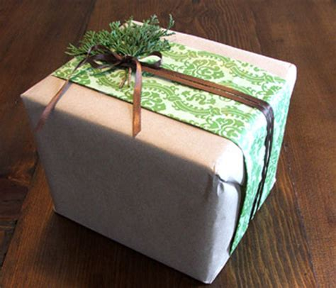 gift wrapping a box 5 sustainable alternatives of wrapping paper green diary
