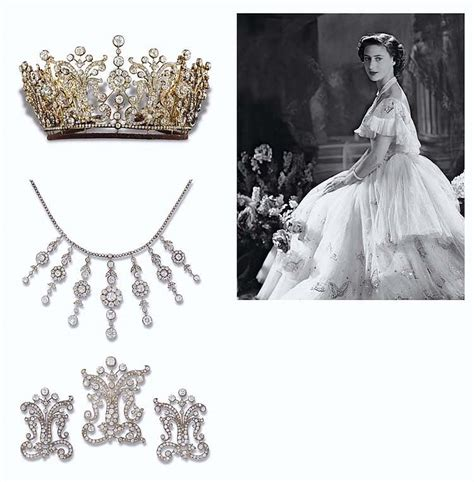 princess margarets poltimore wedding tiara top ten most expensive private jewelry collections sold at
