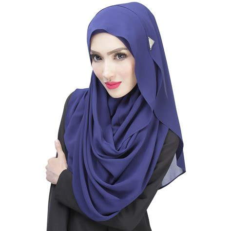 Kain Jilbab Potton Scraf abaya jilbab muslim caps islamic cotton