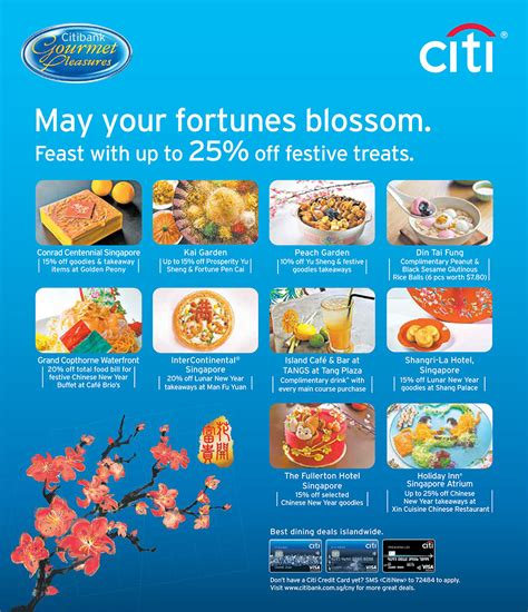 use your citibank credit cards for these festive treats