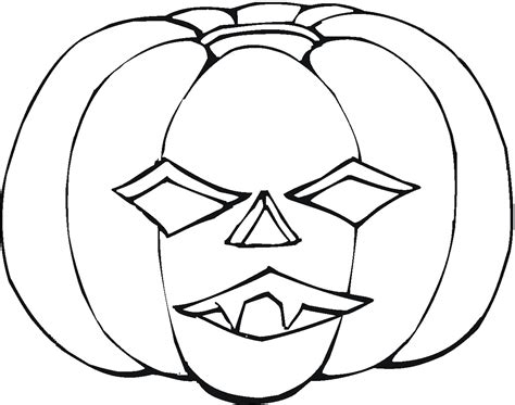 Scary Pumpkin Coloring Pages transmissionpress scary pumpkin coloring pages