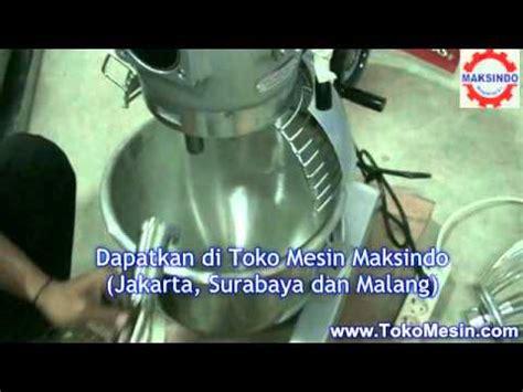 Mesin Roti mesin mixer roti planetary maksindo
