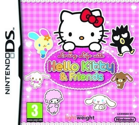 hello kitty nintendo ds 5740 loving life with hello kitty and friends nintendo