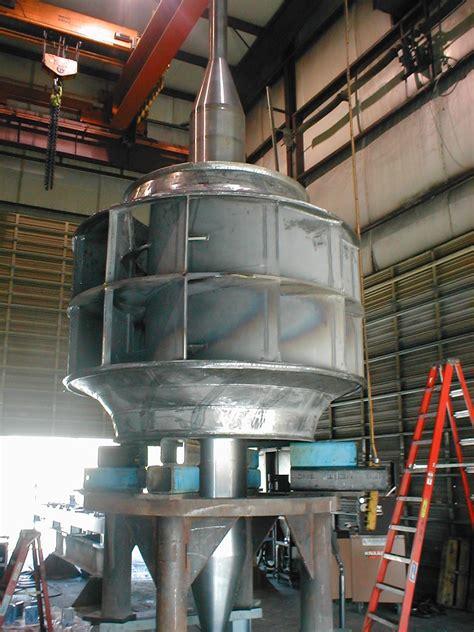 Industrial Fan Repair Shop Work Or On Site In The Field