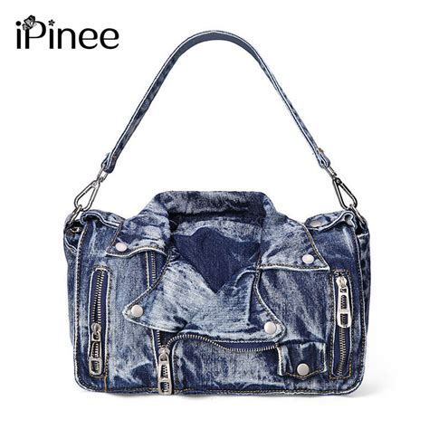 Designer Purse Deal Cannage Hobo Bag by Ipinee Designer Denim Handbags Casual Messenger Bags