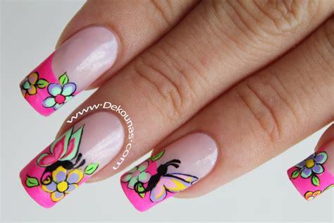 imagenes de mariposas sencillas decoraci 243 n de u 241 as facil de mariposas deko u 209 as moda