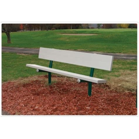 park bench hardware sportsplay permanent park bench legs and hardware only
