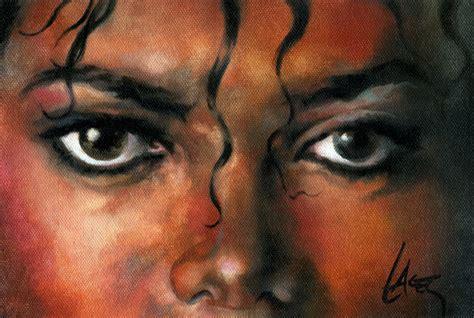 painting michael jackson michael jackson painting the thriller era photo