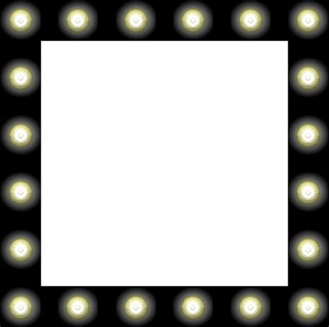 mirror with light border hollywood mirror with light bulbs clip art clipart