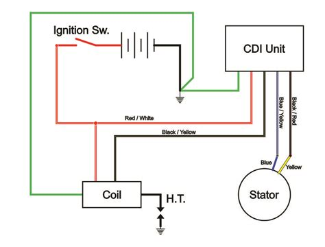 6 wire cdi wiring diagram wiring wiring diagram for cars