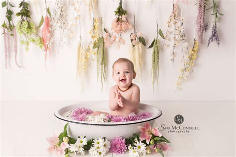 Baby Milk Bath ottawa baby photographer milk bath sessions