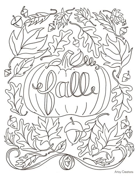 fall coloring pages printable best 25 fall coloring pages ideas on fall