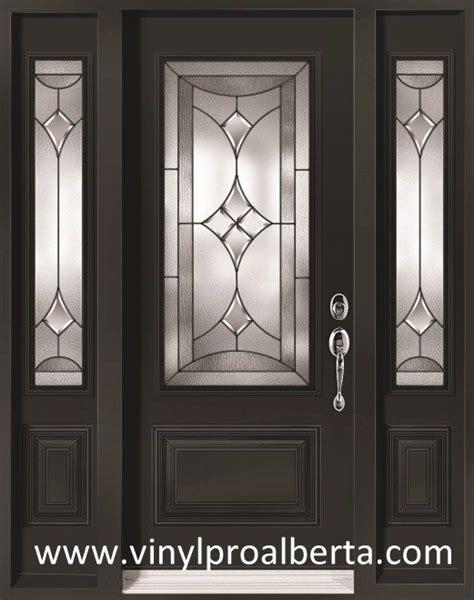 Exterior Door Lights Cheap Entry Doors With Side Lights Steel Entry Door With 2 Sidelights Renoir Ren104 N Ren105