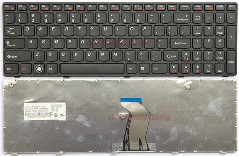 Keyboard Laptop Lenovo G570 New Ibm Lenovo G570 Series Keyboard Us Black Frame Ebay