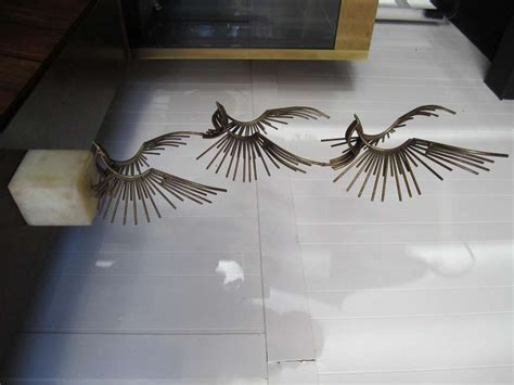 table eagle fly fabulous curtis jere table sculpture flying eagles mid