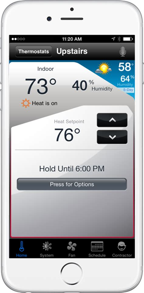 total connect comfort total connect comfort app honeywell