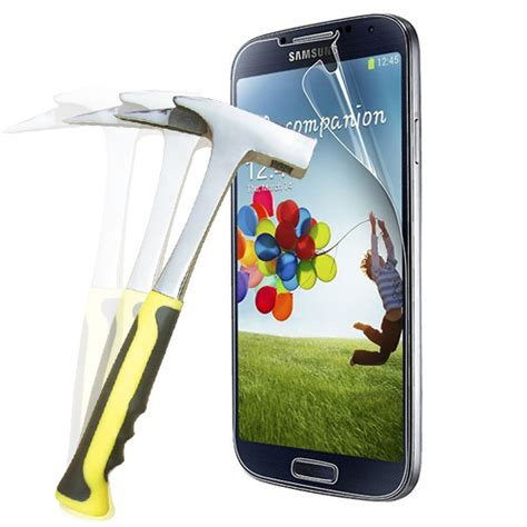Hikaru Anti Shock Screen Protector For Samsung Galaxy S5 nanotechnology ultra anti shock anti impact explosion proof screen protector for samsung