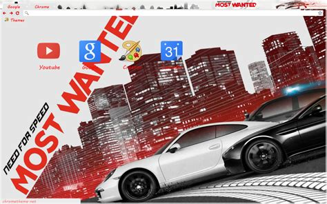 theme google chrome need for speed need for speed most wanted 2012 chrome theme by dioarrd on
