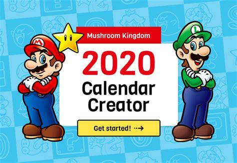 mushroom kingdom  calendar creator super mario wiki  mario encyclopedia