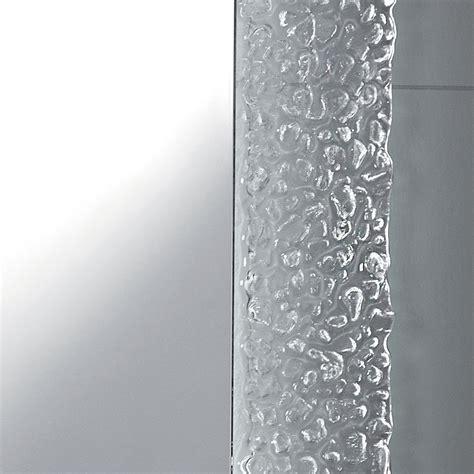cornice in vetro specchio da bagno moderno con decoro cornice in vetro e