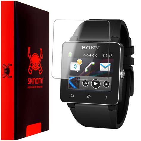 Resmi Sony Smartwatch 2 skinomi techskin sony smartwatch 2 screen protector
