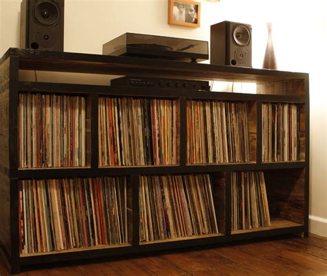 records shelf home recherche mathieu turn table