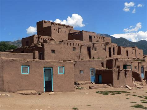 Southwest Style Homes by Taos Pueblo Unesco World Heritage Centre