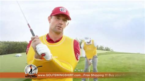 padraig harrington swing shirt golf swing shirt tv spot connection is the best ft