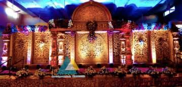 New Stage Decoration by Wedding Stage Decoration Sri Subhalakshmi Mahal