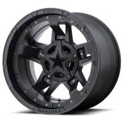 Truck Wheels Accent Rockstar By Kmc Wheels Xd827 Rockstar 3 Matte Black With