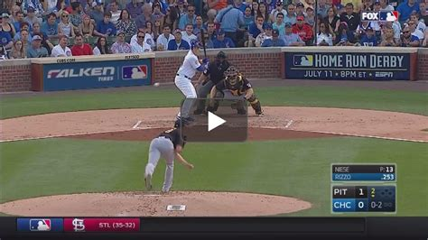 anthony rizzo swing anthony rizzo s 2 strike swing lol clippit